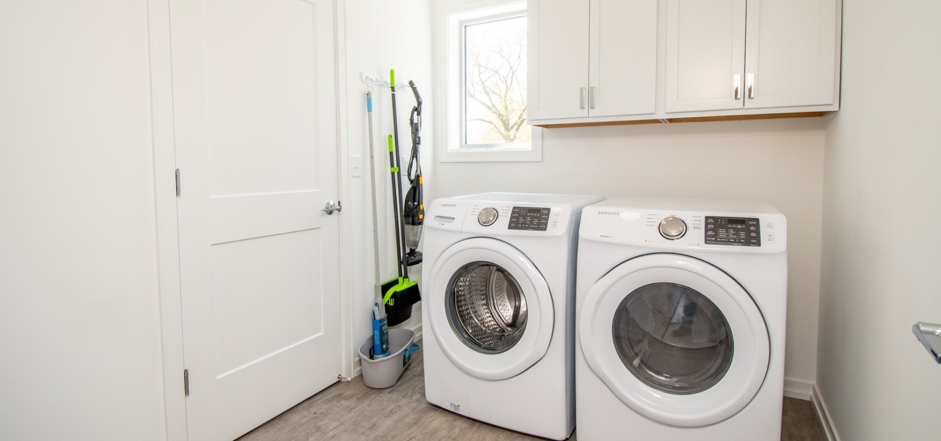In Unit Laundry / Large Storage Areas